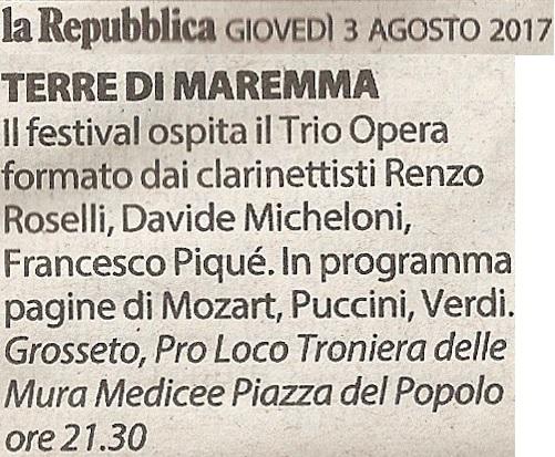 La Repubblica giovedi o3 agosto definitivo